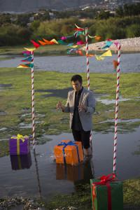 El aguador de fiestas, 2017, Fotografía UltraChrome, 150 x 100 cm.